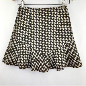 TCEC Ruffle Hem Mini Skirt